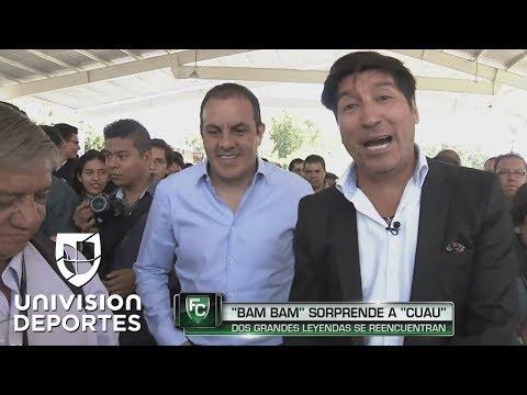 Zamorano sorprendió al alcalde Cuauhtémoc Blanco