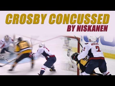 Crosby Concussed By Niskanen