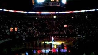 Repeat youtube video Brandi Carlile Sings the National Anthem
