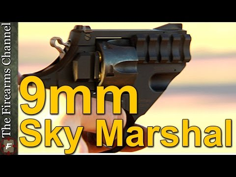 Sky Marshal 9mm Luger by Korth Waffen New at Shot Show