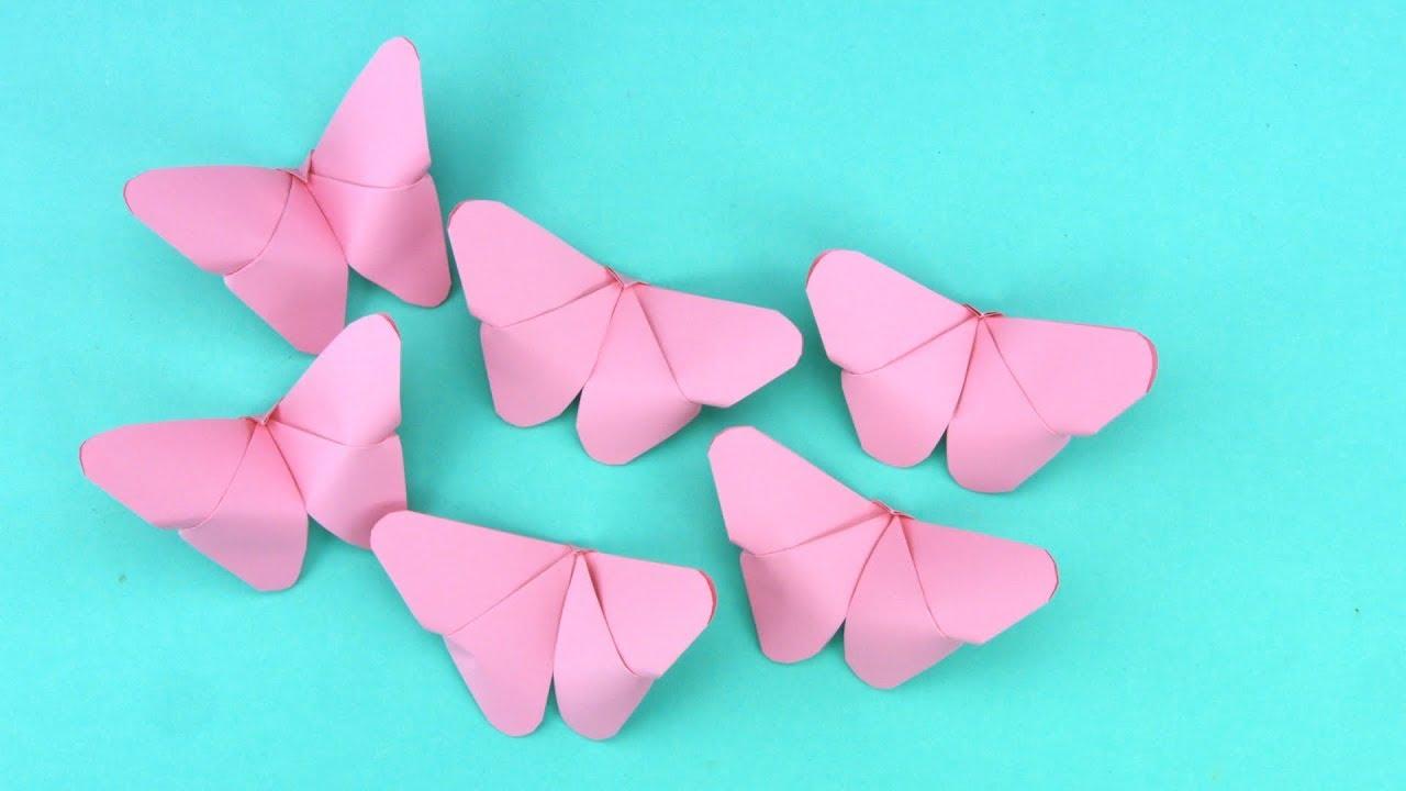 Schmetterling Falten Für Kinder Geeignet