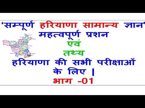 Complete Haryana GK | Part - 01 |