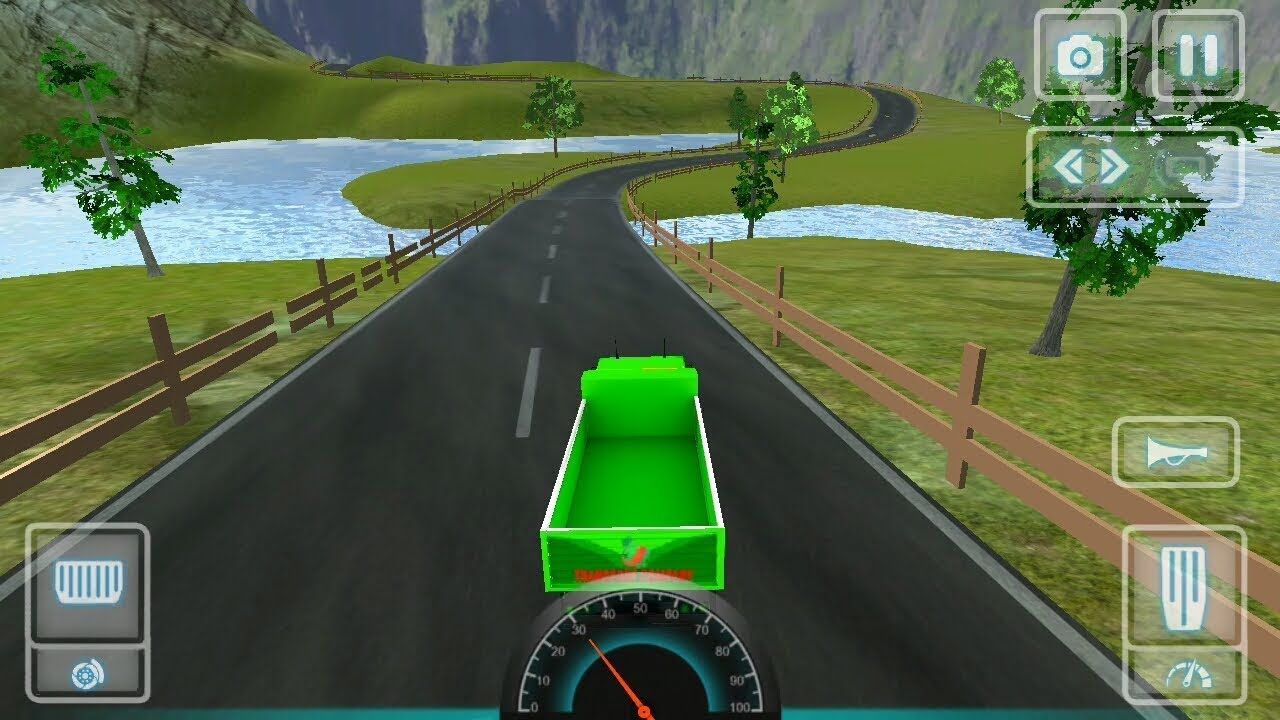Indian truck driving : truck wala game - android gameplay #androidgames