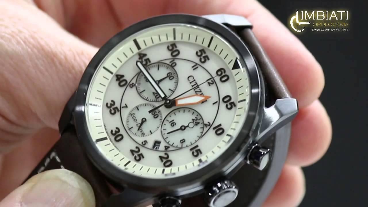 rivenditore di vendita 4b1a2 def9f Orologio Citizen Chrono Aviator CA4213-00E