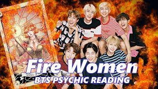 Who is the Fire Women? 🔮 BTS Tarot Reading (2019)