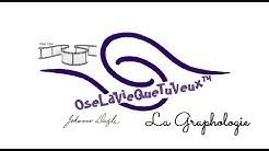 Webinaire 1 Johanne Daigle, graphologue.