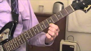 Marty Robbins - El Paso - guitar lesson
