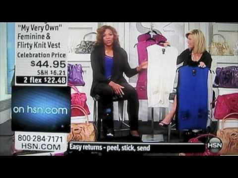 Serena Williams at HSN (Home Shopping Network)