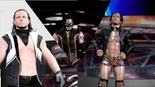 wwe 2k17 caw compilation dcw dynamic championship wrestling showcase