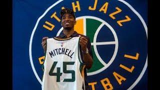 Donovan Mitchell  爵士期待的新星聯盟未來的明星球員