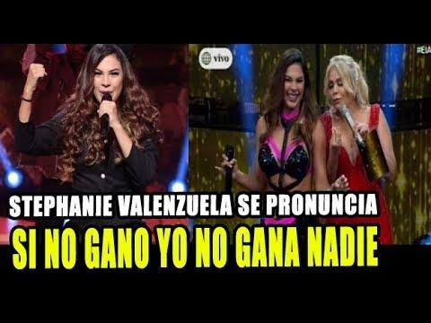 STEPHANIE VALENZUELA SE PRONUNCIA Y DICE QUE ELLA SERÁ LA GANADORA DEL ARTISTA DEL AÑO