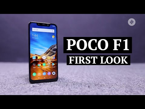 Xiaomi Poco F1 First Look | Xiaomi Poco F1 Price and Specs | Xiaomi Poco F1  Features