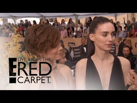 Rooney and Kate Mara Rock Sexy Gowns at 2016 SAG Awards | Live From the Red Carpet | E! News