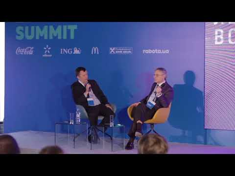 """ELS 2017: Volodymyr Lavrenchuk (Raiffeisen Bank Aval) """"Mind and Matter Leaders: Story from CEO"""""""