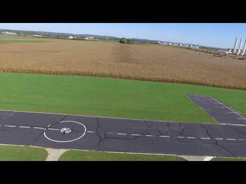 Aerial Tour GCRCC Field