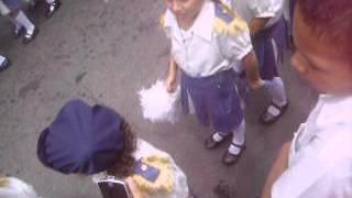 MARCHA  DE  LA NIETA   ASHLEY EN SU COLEGIO EN MANAGUA. AMOR Y  PAN