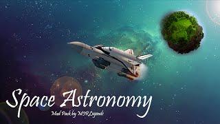 Space Astronomy Minecraft - Ep.2 - nearly infinite lava !