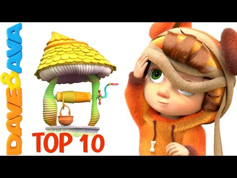 Thumbnail: 😍 Top 10 Nursery Rhymes and Kids Songs from Dave and Ava 😍