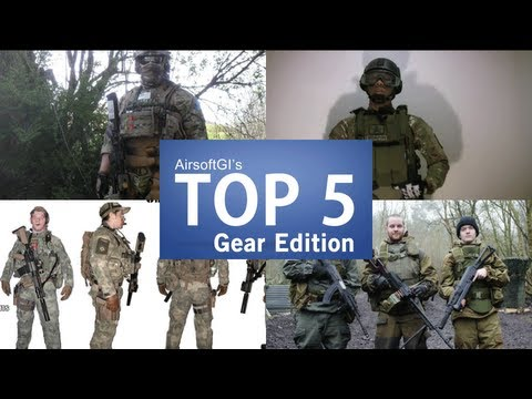 Airsoft GI - Top 5 Content Count Down - Tactical Gear Edition