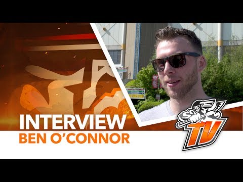 Steelers TV - Interview - Ben O'Connor leaving for KHL