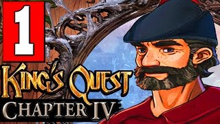 King's Quest Chapter 4 Snow Place Like Home Walkthrough Part 1 Lets Playthrough PS4 XBOX PC