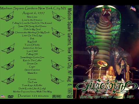 Aerosmith Something's Gotta Give Live MSG '97