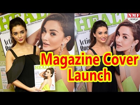 Amy Jackson during the Health & Nutrition magazine cover launch-UNCUT