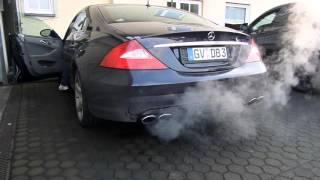 Mercedes Benz CLS 500 Klappenauspuff Valve Exhaust Sound