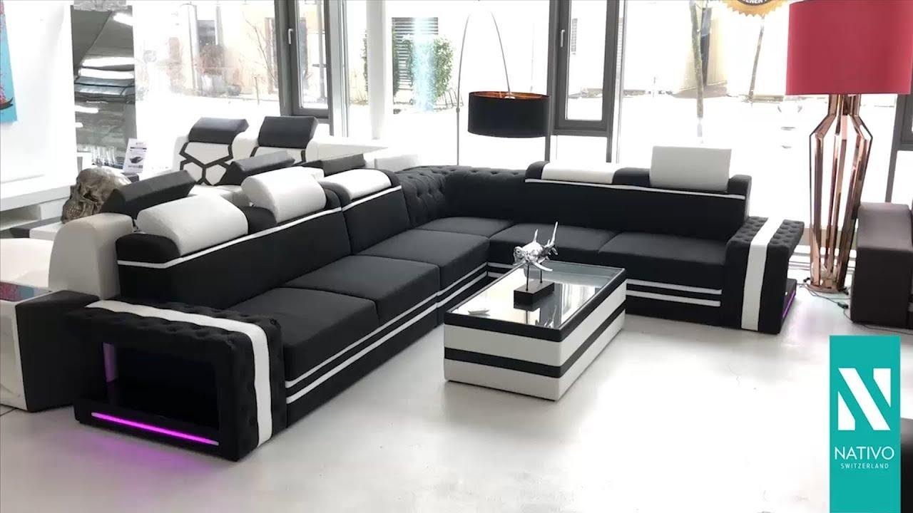 Nativo Möbel Schweiz Designer Sofa Imperial Corner Mit Led