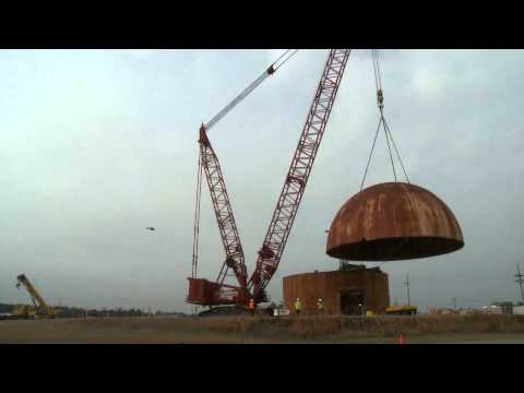 HWCTR Dome Removal at SRS