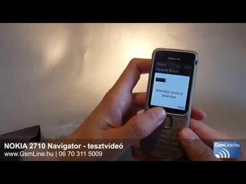 Nokia 2710 Navigator - tesztvideó | www.Gsmline.hu | HD