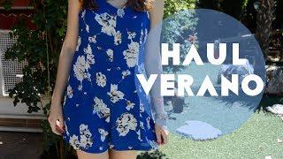 Haul verano: Zara, Oysho, Xti, Refresh... Thumbnail