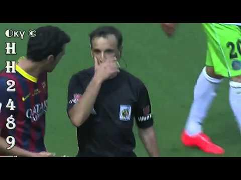 Barcelona vs Getafe 2-2 → RESUMEN & GOLES← Barcelona 2-2 Getafe ~ Liga BBVA ~ 03-05-2014