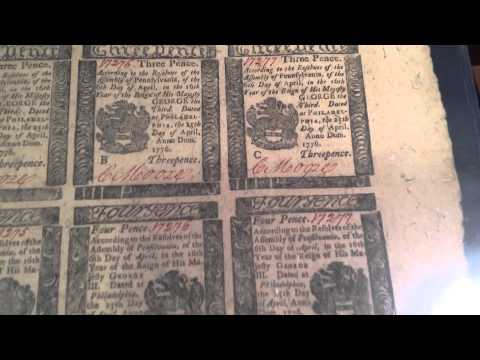 Rare American Colonial Currency