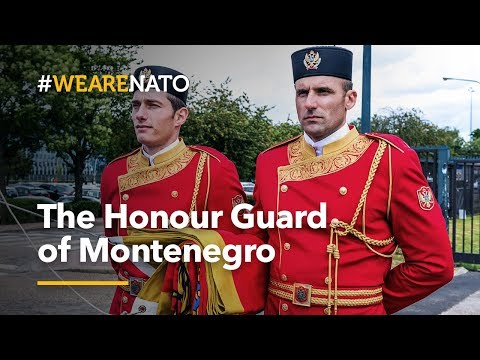 The Honour Guard of Montenegro - #WeAreNATO