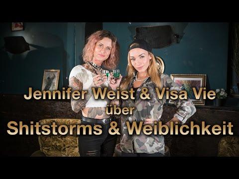 Zum Goldenen V - Jennifer Weist & Visa Vie über Shitstorms und Weiblichkeit! (Vorglühen)