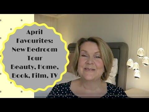 April Favourites : New Bedroom Tour, Beauty, Home, TV, Book, Film