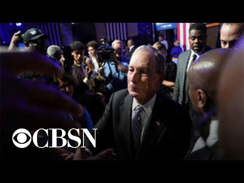 Michael Bloomberg to face rivals in his first 2020 debate