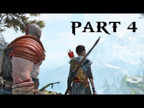 God of War Gameplay Walkthrough Part 4 - BOAR (God of War 2018 PS4)