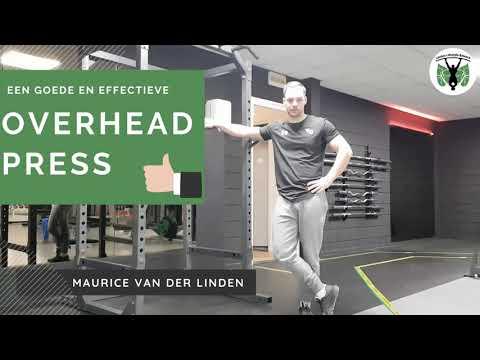 Hoe doe je een goede en effective overhead press?