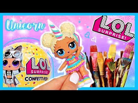 UNICORN 🦄 LOL Surprise Doll Big Sis - Custom DIY ! :)
