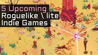 Top 5 Upcoming Roguelike / Roguelite Indie Games in 2018 - Part 6