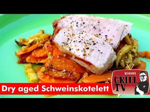 Dry aged Schweinskotelett --- Rummel Grill TV #rummelgrilltv UT eng, deu