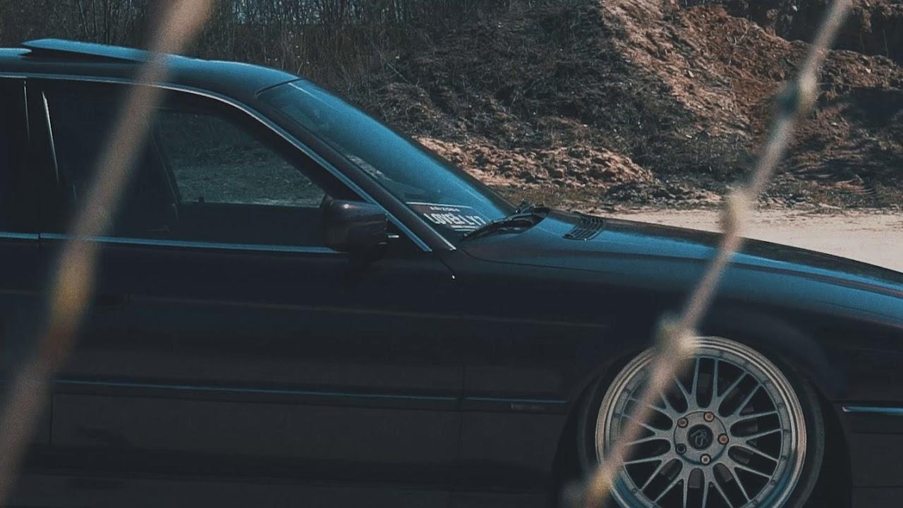 BMW 7 Bagged stance - teaser