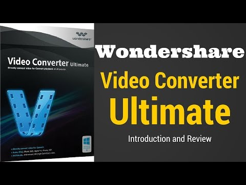 Wondershare Video Converter Ultimate Fastest Video Converter(2D To 3D)