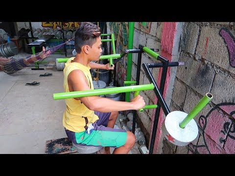 My Homemade Gym Equipment - Cool Gym Ideas!