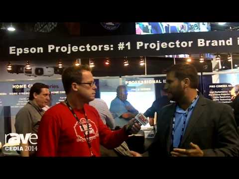 CEDIA 2014: Gary Kayye Talks to Jason Palmer at EPSON About 3LCD Reflective Laser Projector and More