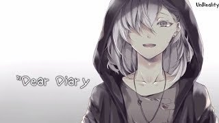 「Nightcore」→  Dear Diary (Part 1 | Anorexia Song) | Animated