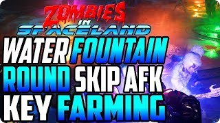 Zombies In Spaceland Glitches: AFK Fountain Round Skip/Key Farming After Patch - Infinite Warfare