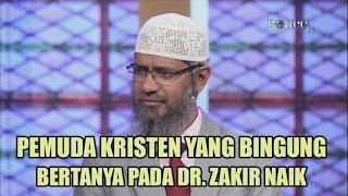 Pemuda Kristen yang Bingung Bertanya Pada Dr. Zakir Naik